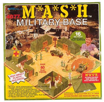 Hake's MASH playset
