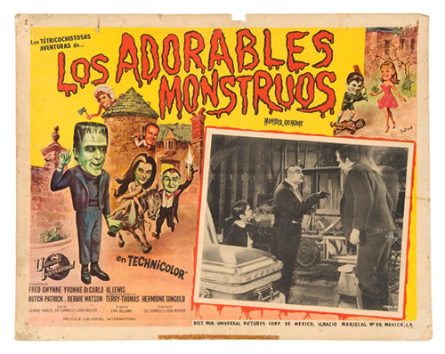 Hake's Munsters Mexican lobby card