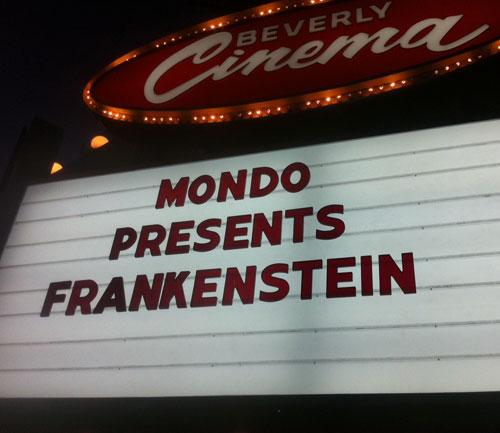 Mondo Mystery Movie Drew Struzan Frankenstein