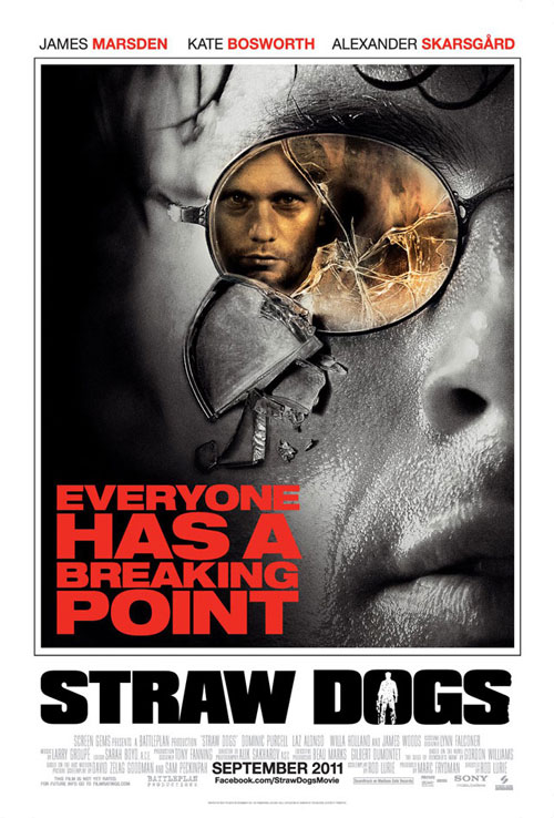 straw dogs teaser poster