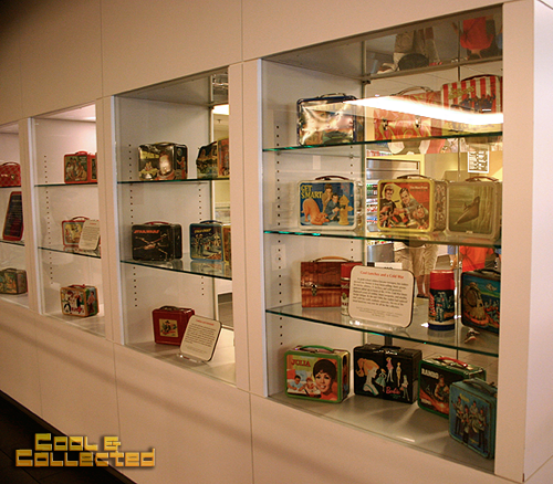 vintage lunchboxes at the American history Museum