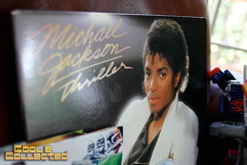 yard sale michael jackson thriller LP