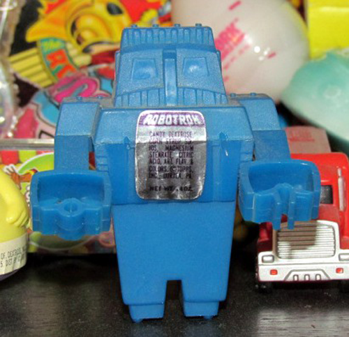 Collector Profile - Adam Pratt - Robotron candy container collection