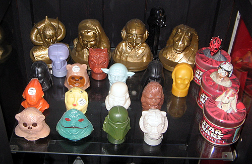 Collector Profile - Adam Pratt - Star Wars candy container collection