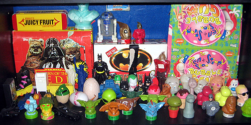 Collector Profile - Adam Pratt - candy container collection