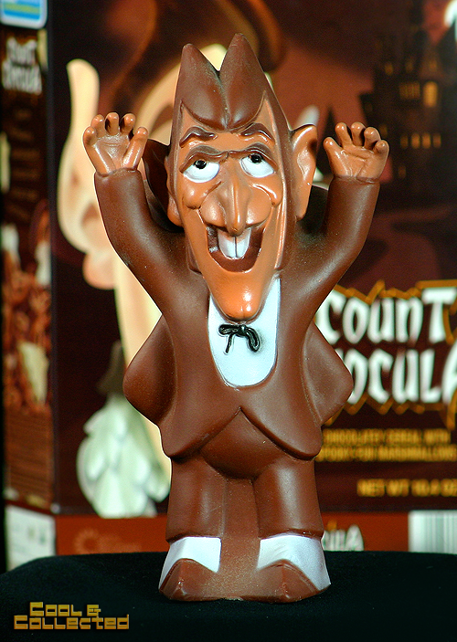 70's count chocula vinyl advertising promotional toy figure