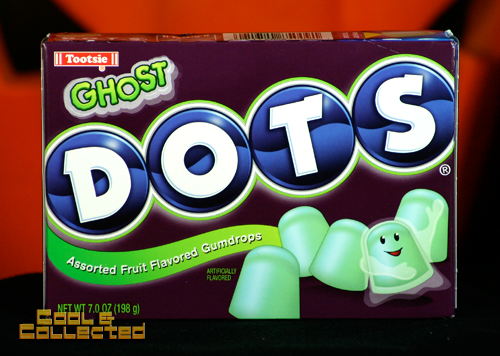 halloween tootsie ghost dots