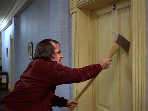 halloween costume idea - the shining - Jack Nicholson