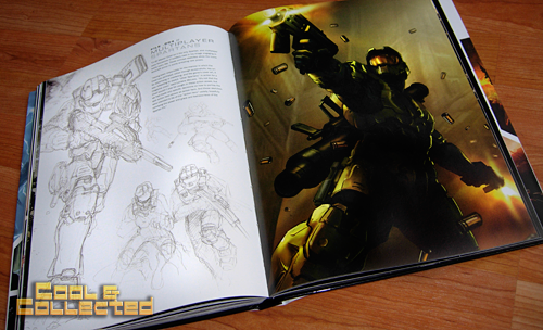 """Halo: the art of building worlds"" book by Titan Books"