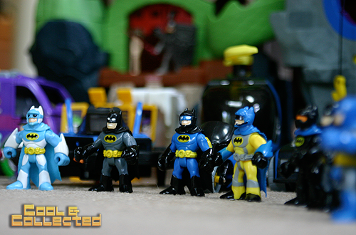 imaginext batman toys action figure collection