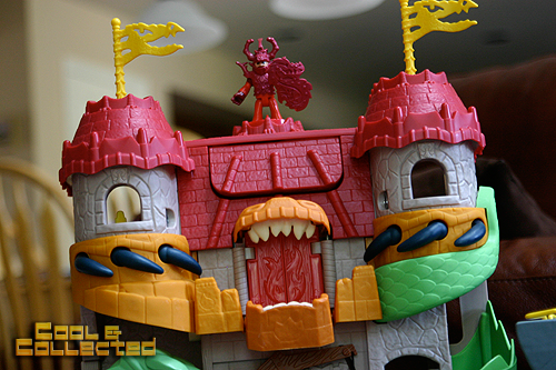 imaginext castle toy collection
