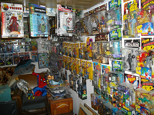 calvin's canadian cave of cool toy collection