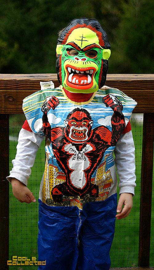 vintage king kong halloween costume