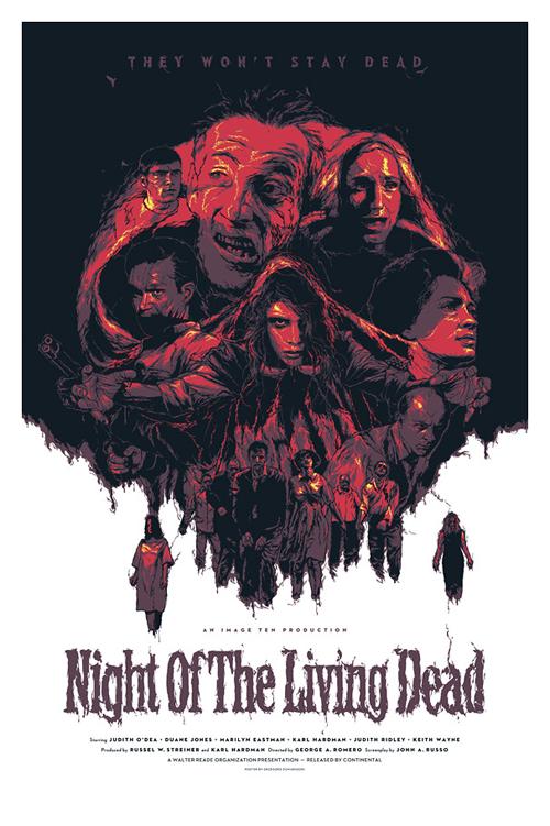 Grzegorz Domaradzki's Night of the Living Dead poster