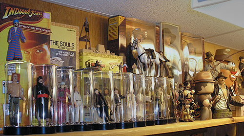 tanski - Indiana Jones toys and action figure collection