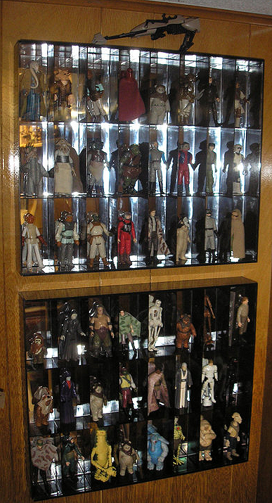 tanski -  collection of vintage kenner star wars action figures