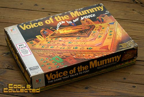 voice of the mummy board game 1971