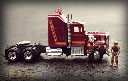 MASK Rhino truck with matt trakker and bruce sato
