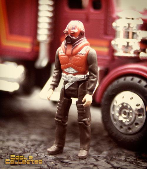1980's vintage M.A.S.K. Matt Tracker action figure