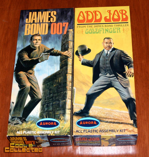 aurora model kits - james bond odd job
