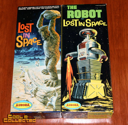 aurora model kits - lost in space
