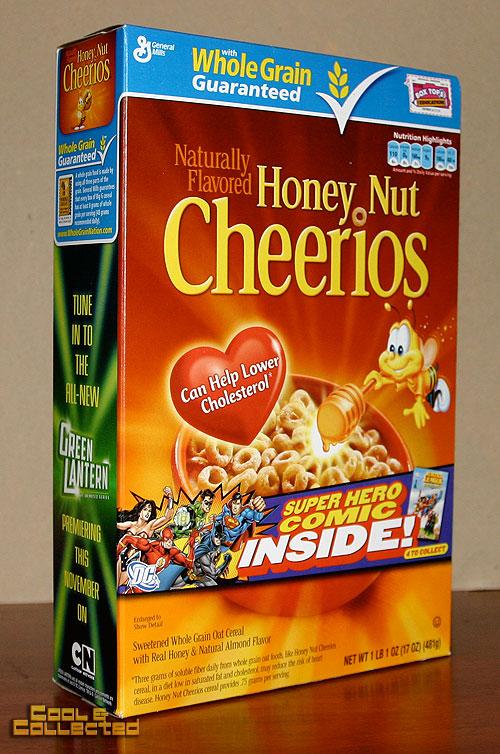 dc comics general mills cereal
