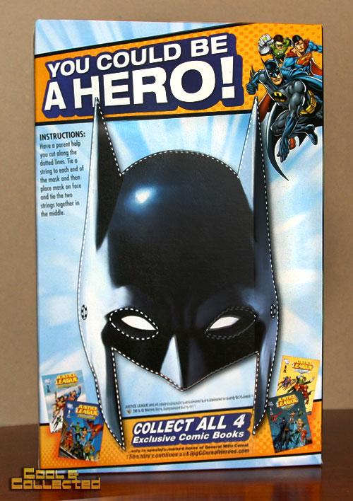 dc comics general mills cereal - Batman mask to cut out
