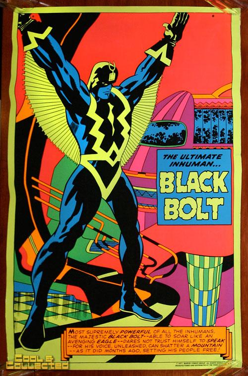 marvel third eye poster blacklight black bolt