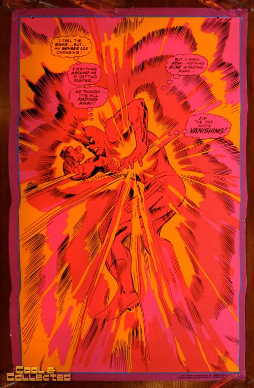 marvel third eye poster blacklight daredevil