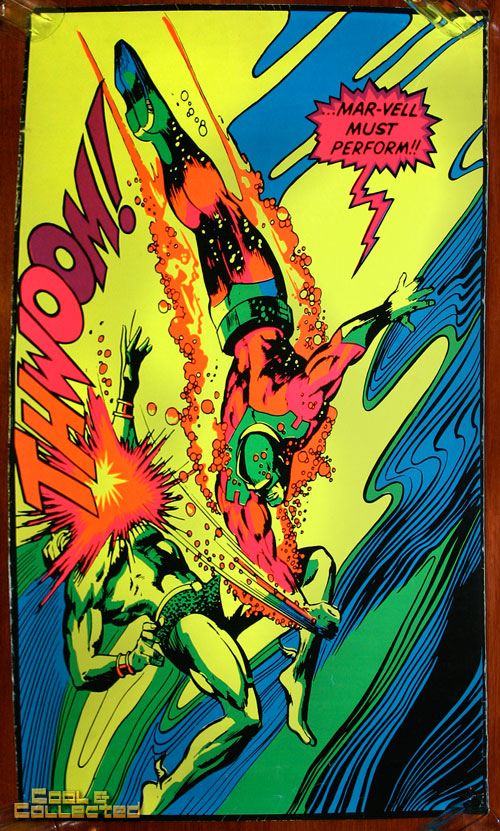 marvel third eye poster blacklight thwoom