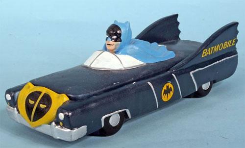 old town auctions - Batman batmobile 1966 npp Lego trinket box japanese
