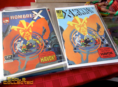 todd sheffer - x-men comic books collection