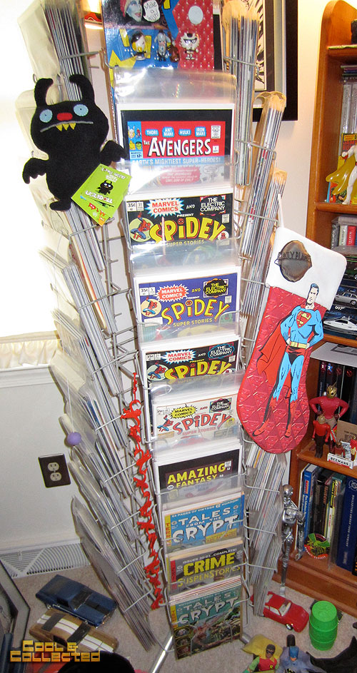 todd sheffer collection - comic book rack