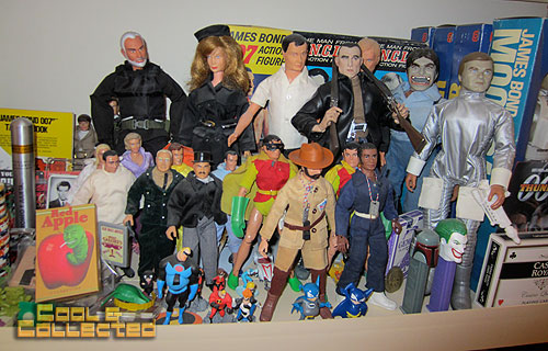 todd sheffer collection - vintage and new toys
