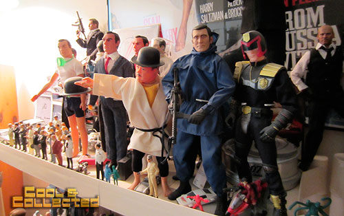todd sheffer collection - vintage and new James Bond toys