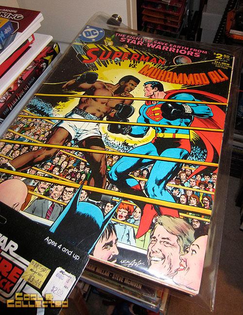 todd sheffer collection - superman vs muhammad ali comic book treasury