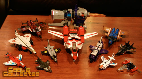 1980's transformers g1 collection