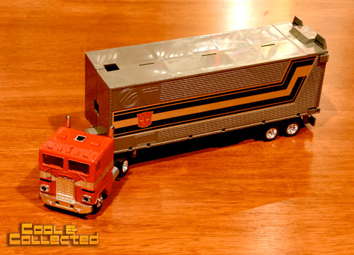 1980's transformers g1 collection optimus prime
