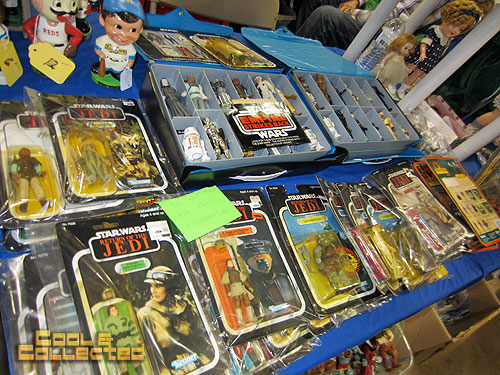york toy extravaganza  2011 - Star Wars action figures