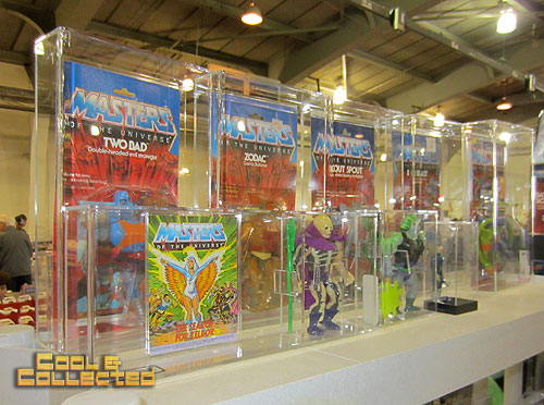 york toy extravaganza  2011 - Masters of the Universe action figures