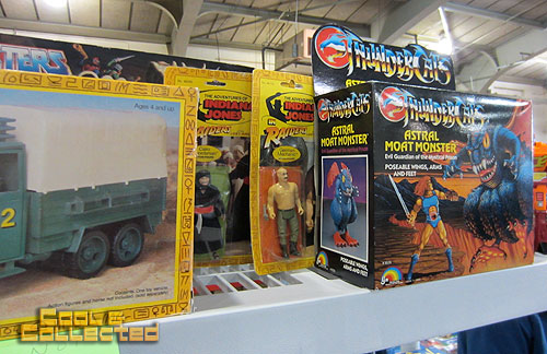 york toy extravaganza  2011 - Indiana Jones action figures