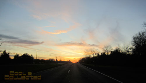 york toy extravaganza 2011 - sunrise drive to Pennsylvania