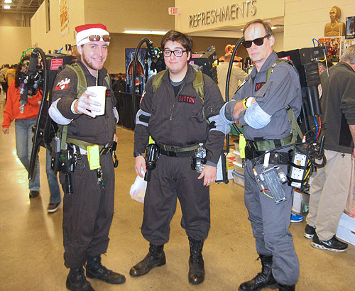 steel city con 2011 - Ghostbusters Cosplayers