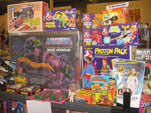 steel city con 2011 - vintage toys for sale from the 80's