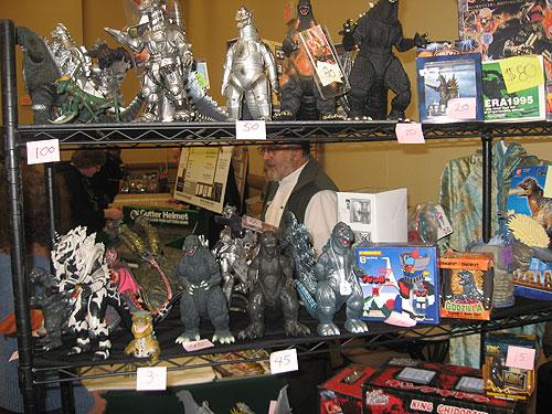 steel city con 2011 - vintage Godzilla toys
