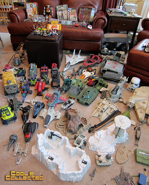 vintage 80's toy haul - gi joe and star wars toys