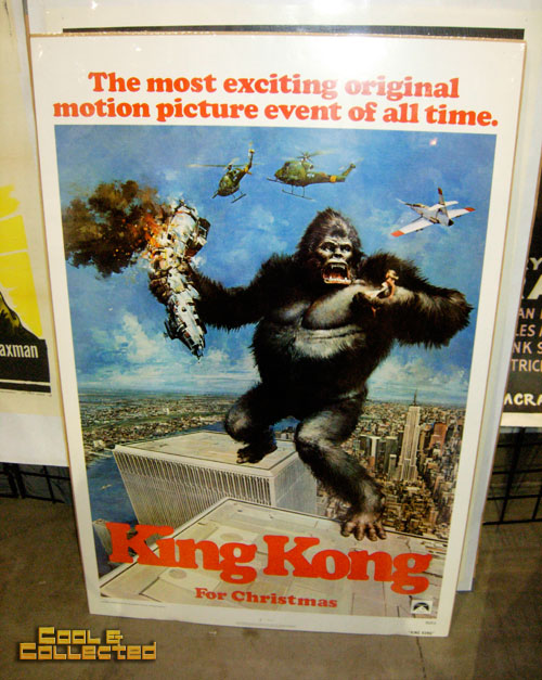 DC Big Flea - king kong teaser movie poster 1976