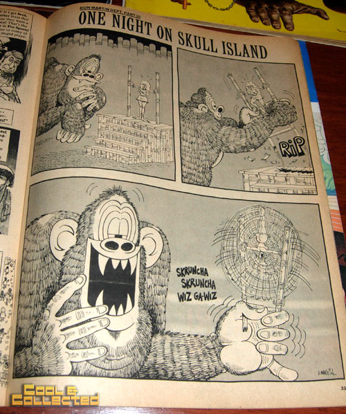 DC Big Flea - mad magazine king kong by Don Martin