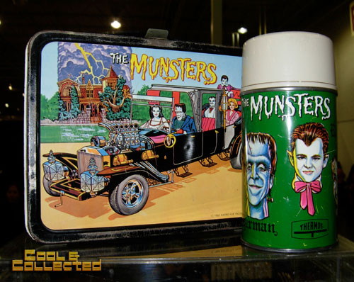 DC Big Flea Vintage Munsters lunchbox