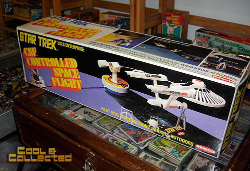 DC Big Flea - vintage remco star trek enterprise